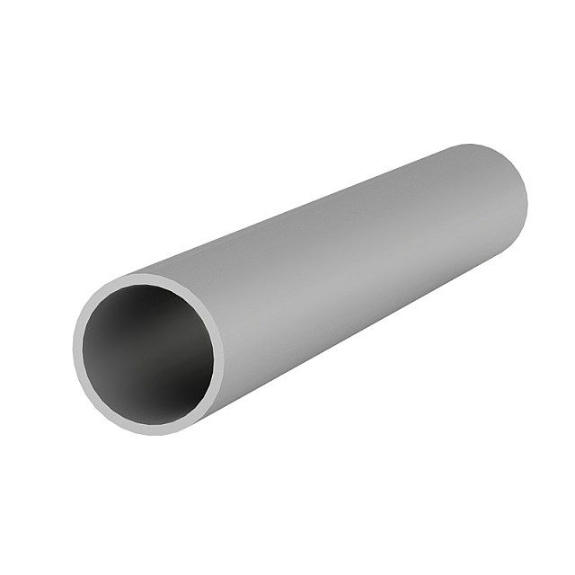 ALUMINUM ROUND TUBE D.30x2mm ANODISED